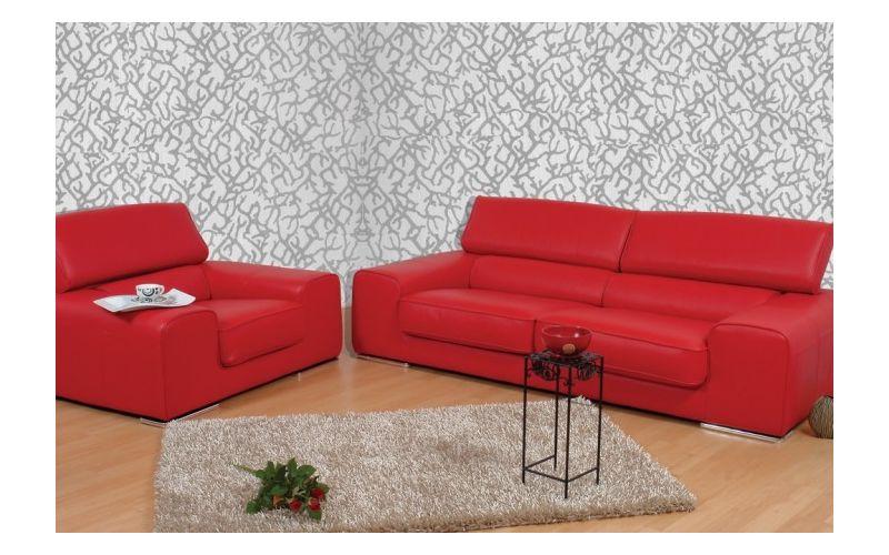 Camberra Bőr kanapé + fotel